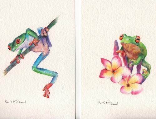 Two Funky Froggies